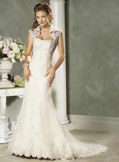Хмельницкий рынок: Образец свадебного платья №1
