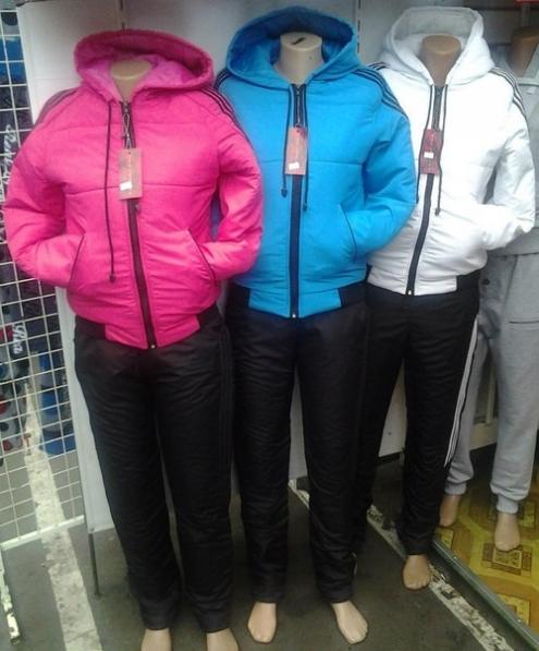 Недорогие женские зимние костюмы